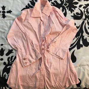 New York & company buttoned shirt